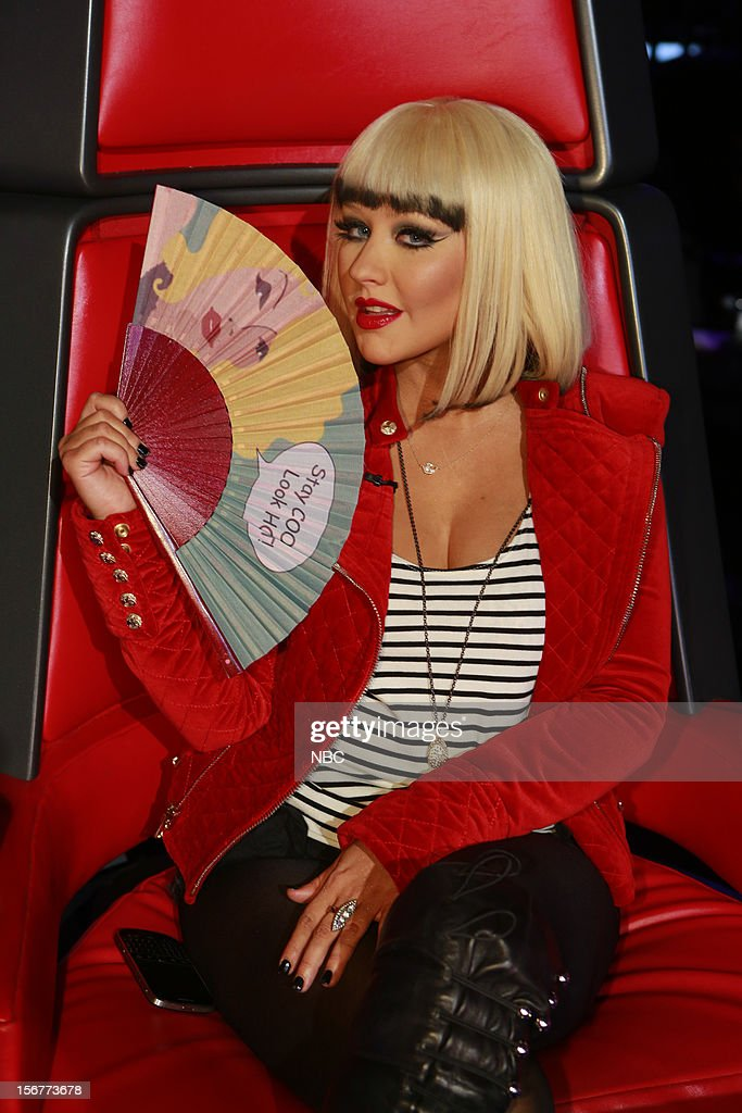THE VOICE -- 'Live Show' Episode 319B -- Pictured: Christina Aguilera --