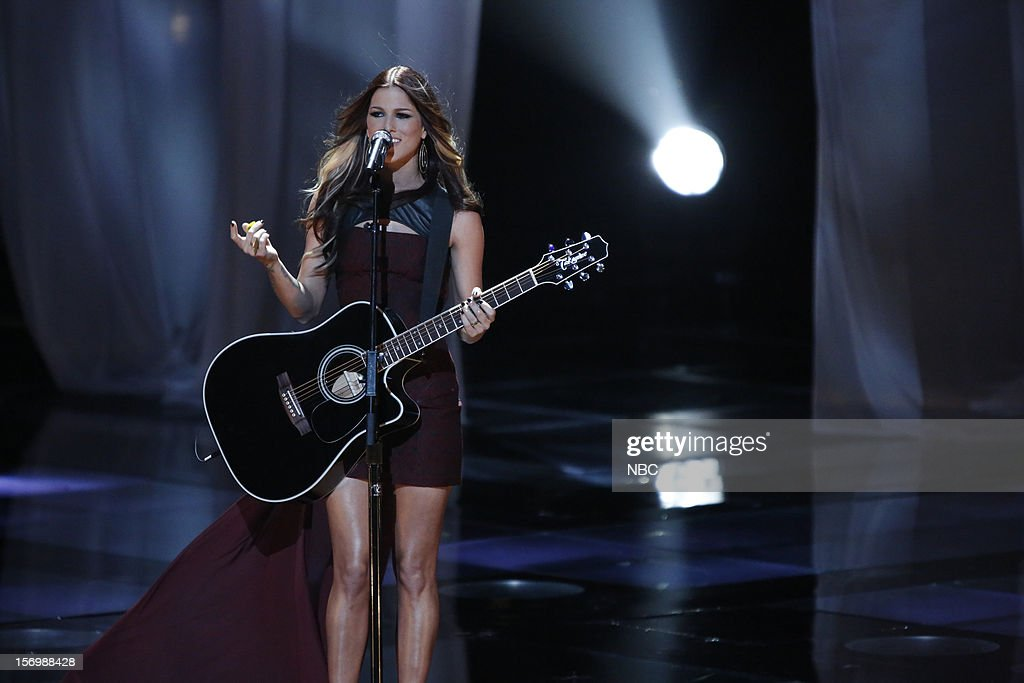 THE VOICE -- 'Live Show' Episode 320A -- Pictured: Cassadee Pope --