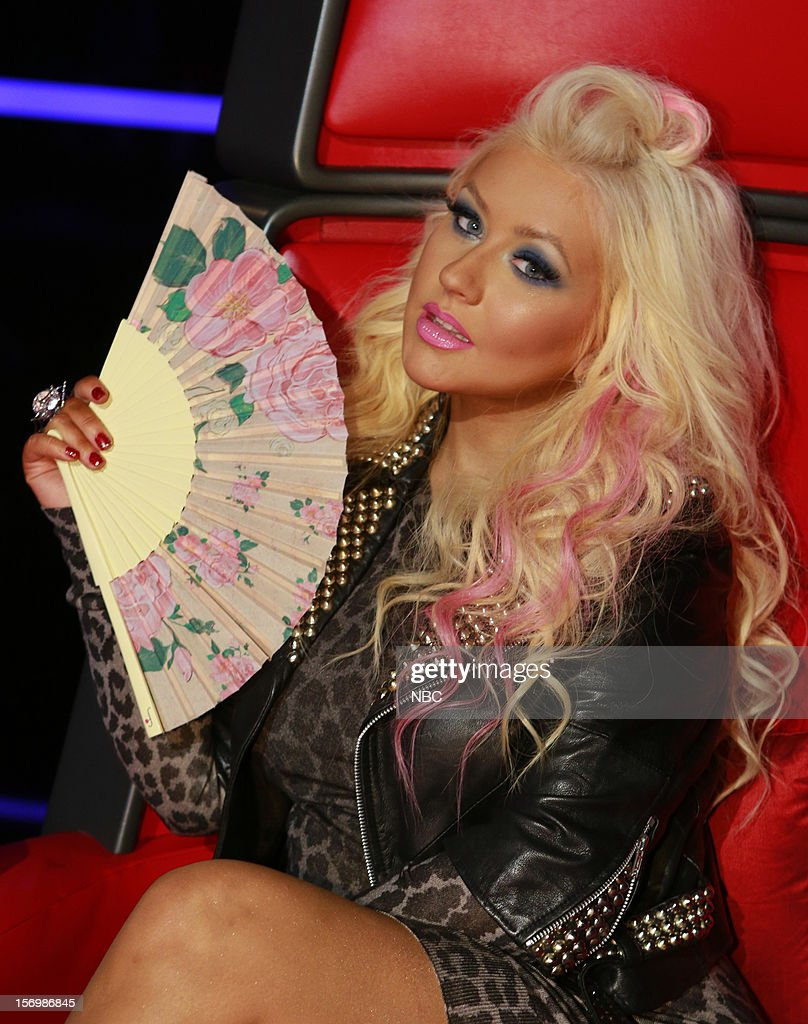 THE VOICE -- 'Live Show' Episode 320A -- Pictured: Christina Aguilera --