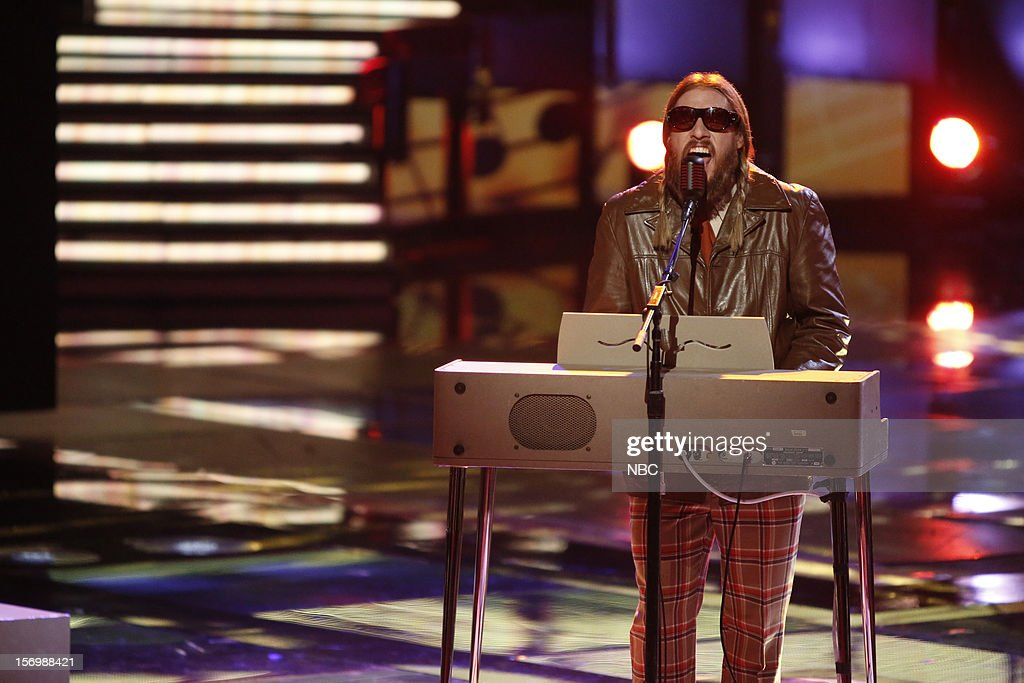 THE VOICE -- 'Live Show' Episode 320A -- Pictured: Nicholas David --