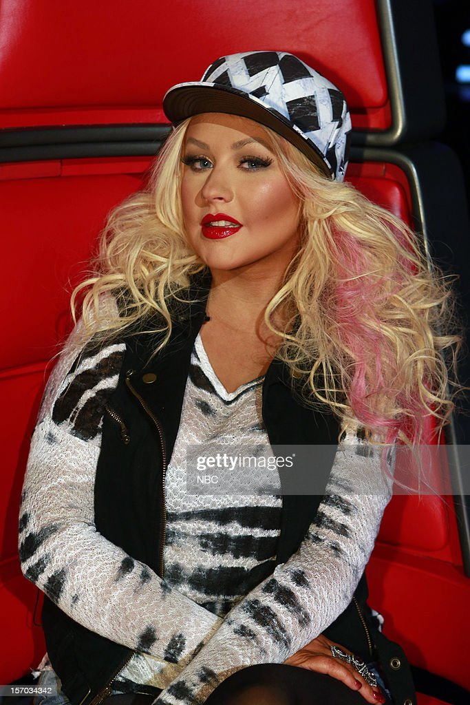 THE VOICE -- 'Live Show' Episode 320B -- Pictured: Christina Aguilera --