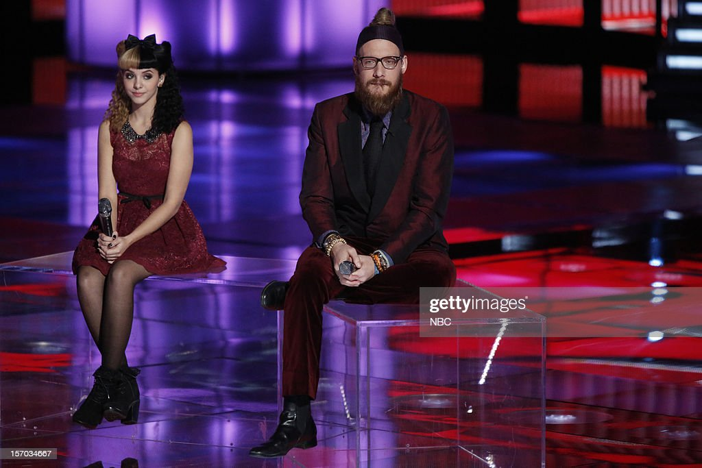 THE VOICE -- 'Live Show' Episode 320B -- Pictured: (l-r) Melanie Martinez, Nicholas David --