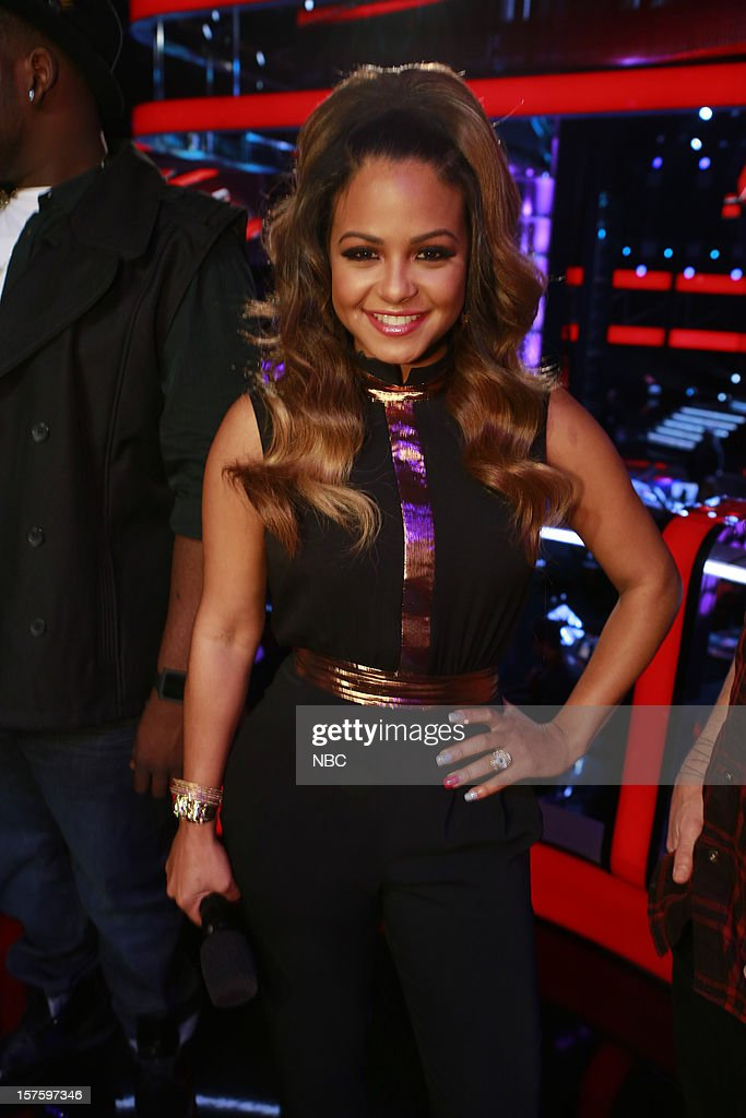 THE VOICE -- 'Live Show' Episode 321B -- Pictured: Christina Milian --