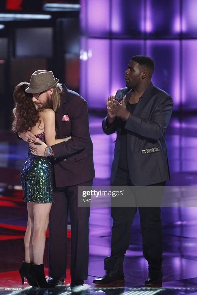 THE VOICE -- 'Live Show' Episode 322B -- Pictured: (l-r) Cassadee Pope, Nicholas David, Trevin Hunte --
