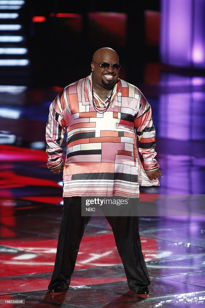 THE VOICE -- 'Live Show' Episode 322B -- Pictured: CeeLo Green --