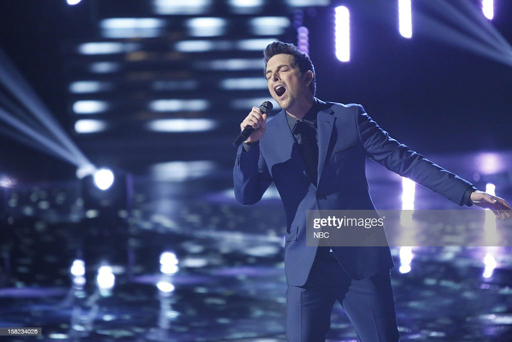THE VOICE -- 'Live Show' Episode 322B -- Pictured: Chris Mann --