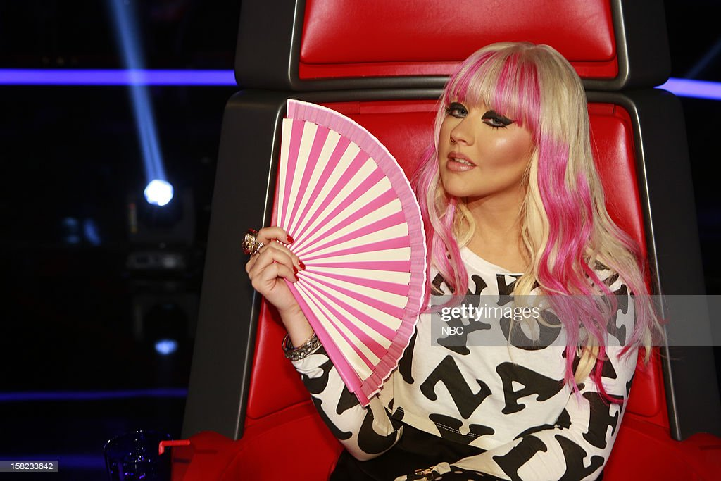THE VOICE -- 'Live Show' Episode 322B -- Pictured: Christina Aguilera --