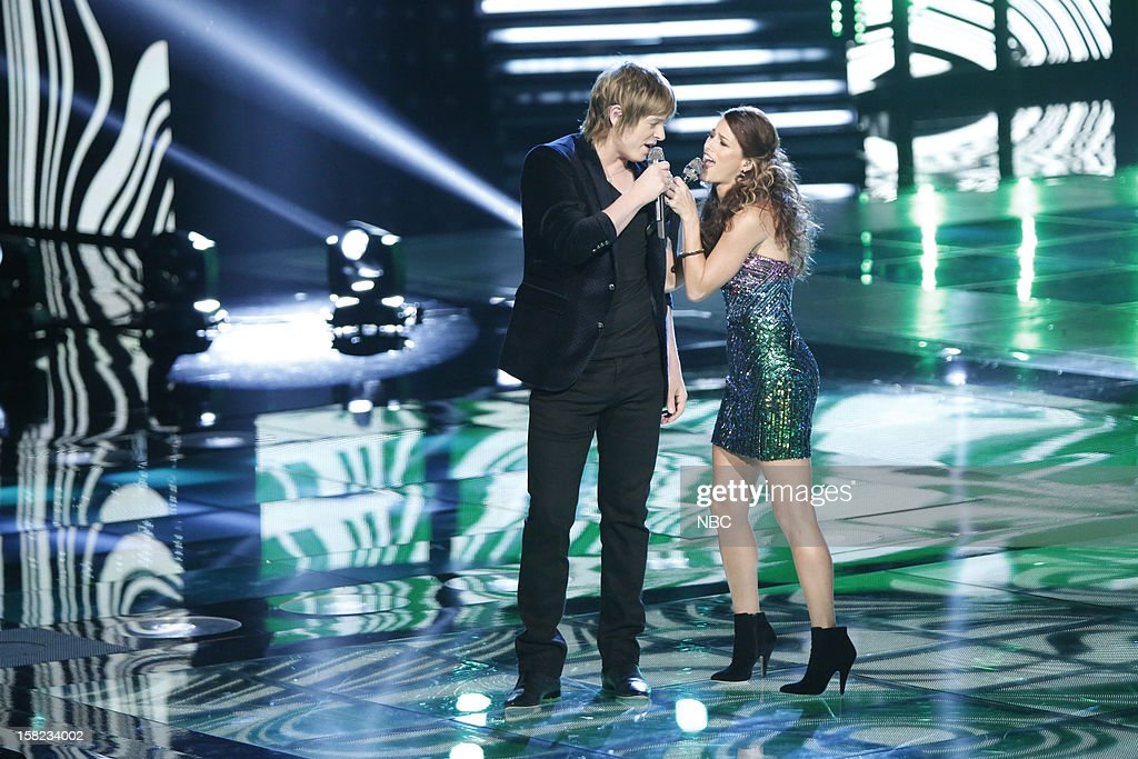 THE VOICE -- 'Live Show' Episode 322B -- Pictured: (l-r) Terry McDermott, Cassadee Pope --