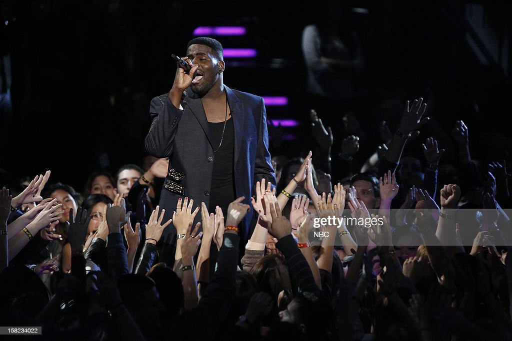 THE VOICE -- 'Live Show' Episode 322B -- Pictured: Trevin Hunte --