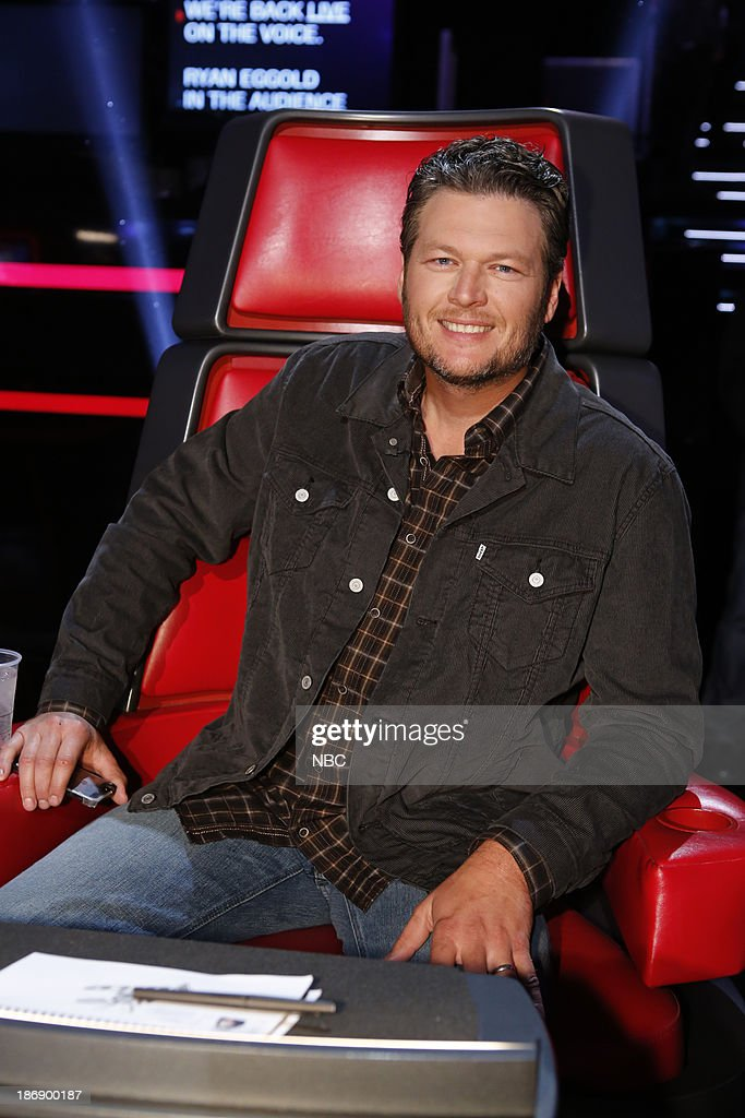 THE VOICE -- 'Live Show' Episode 513A -- Pictured: Blake Shelton --