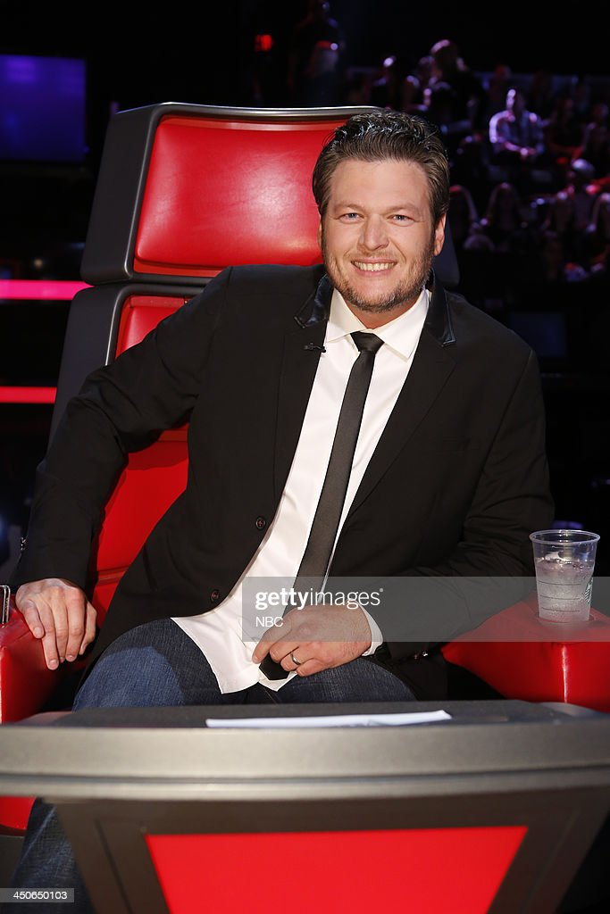 THE VOICE -- 'Live Show' Episode 515B -- Pictured: Blake Shelton --