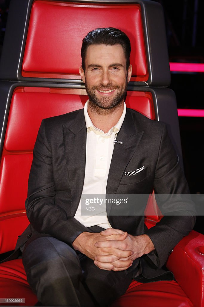 THE VOICE -- 'Live Show' Episode 516A -- Pictured: Adam Levine --