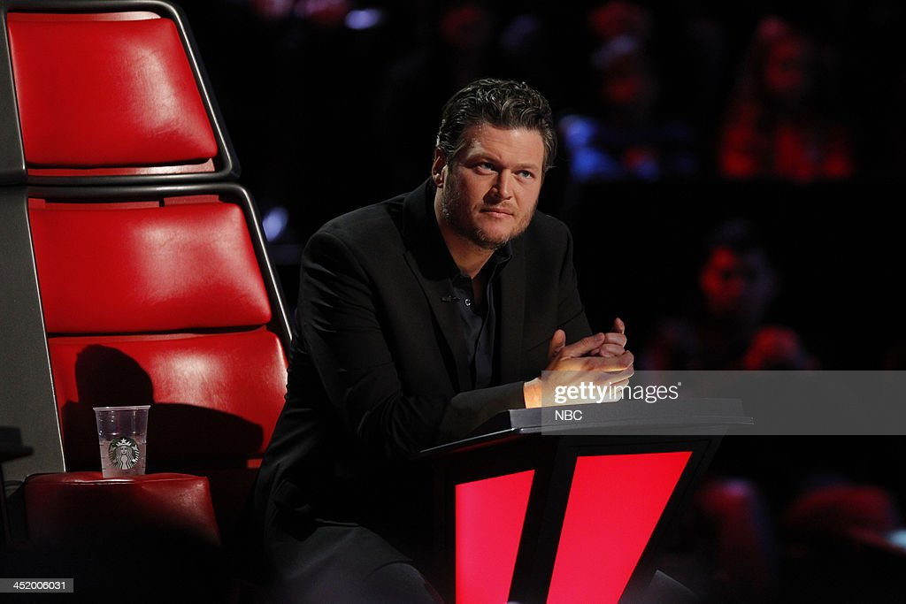 THE VOICE -- 'Live Show' Episode 516A -- Pictured: Blake Shelton --