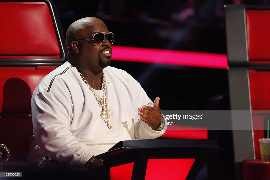 THE VOICE -- 'Live Show' Episode 516A -- Pictured: CeeLo Green --