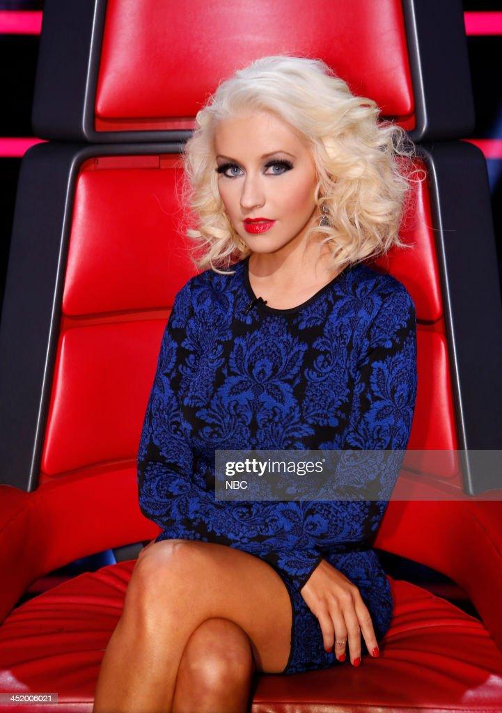 THE VOICE 'Live Show' Episode 516A Pictured Christina Aguilera