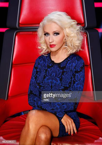THE VOICE 'Live Show' Episode 516A Pictured Christina Aguilera