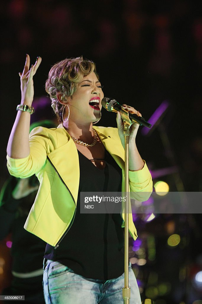 THE VOICE -- 'Live Show' Episode 516A -- Pictured: Tessanne Chin --