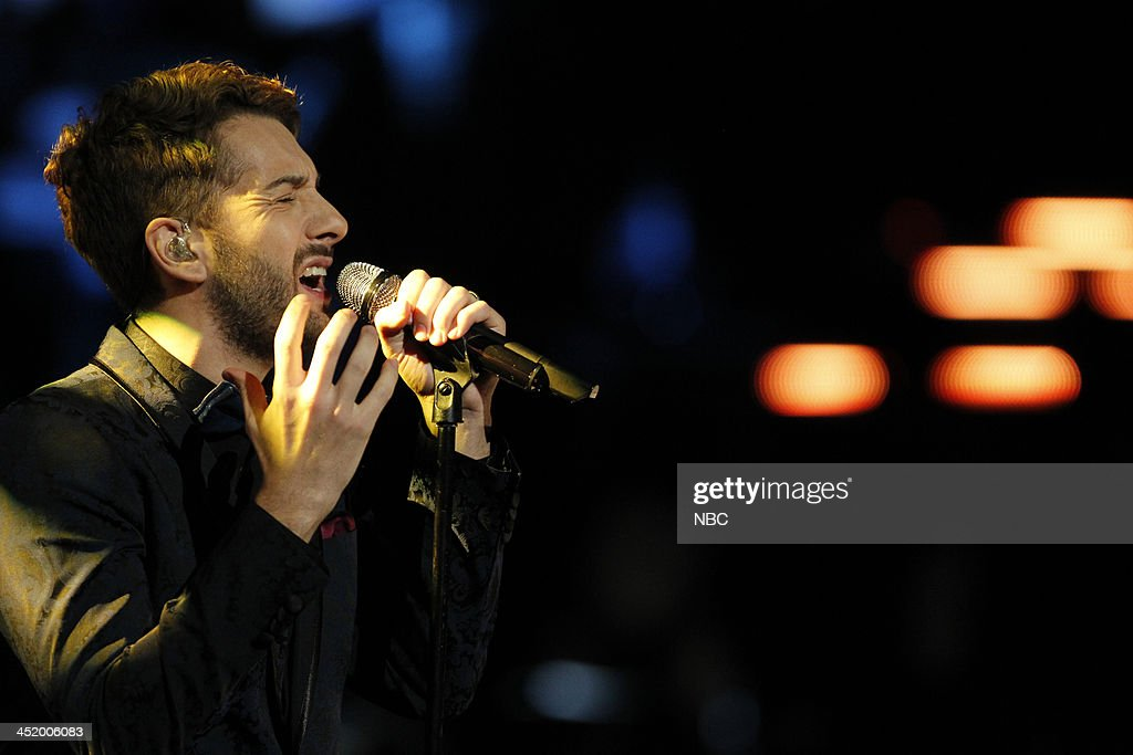 THE VOICE -- 'Live Show' Episode 516A -- Pictured: Will Champlin --