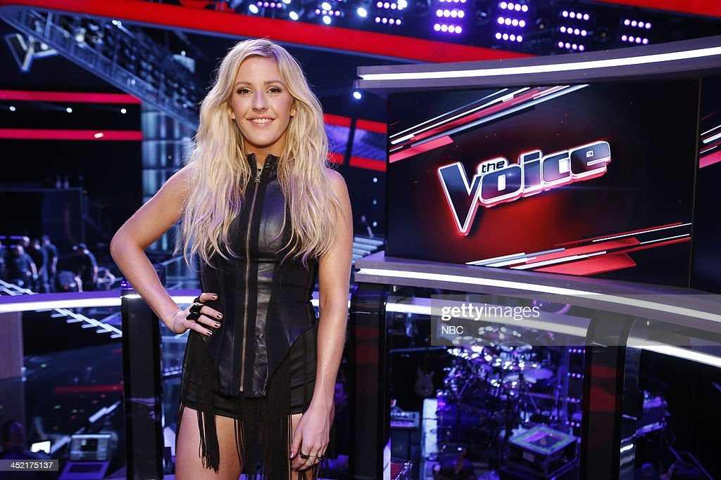 THE VOICE -- 'Live Show' Episode 516B -- Pictured: Ellie Goulding --