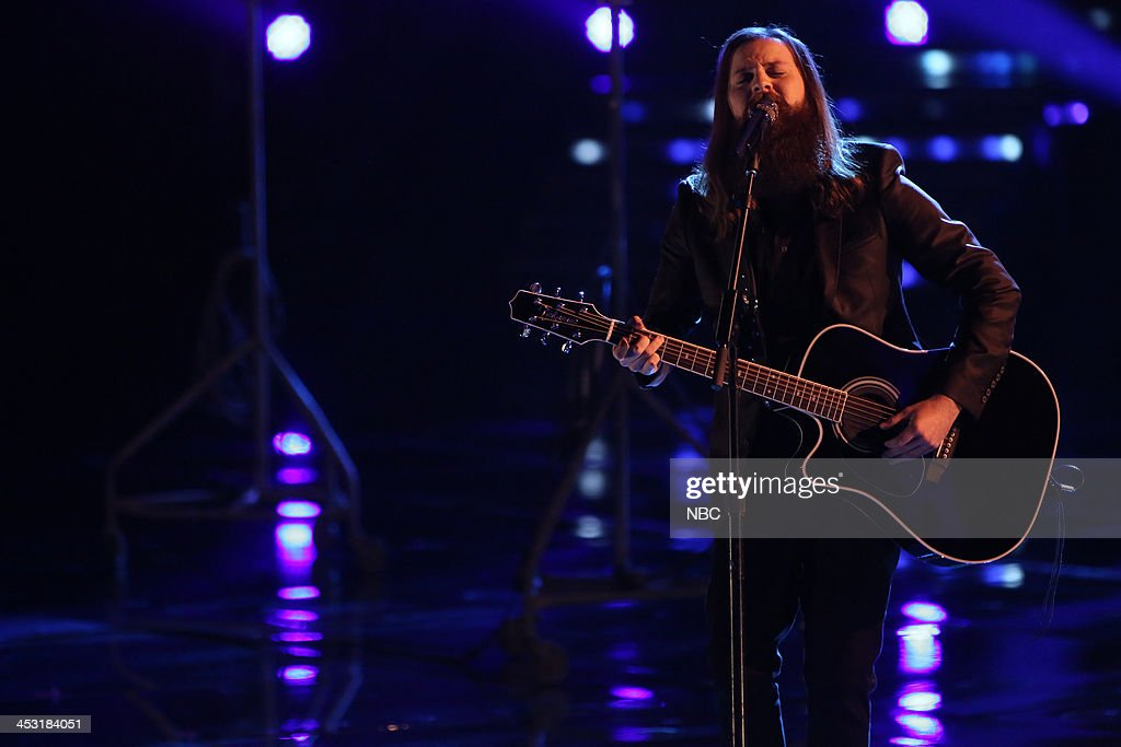 THE VOICE -- 'Live Show' Episode 517A -- Pictured: Cole Vosbury --