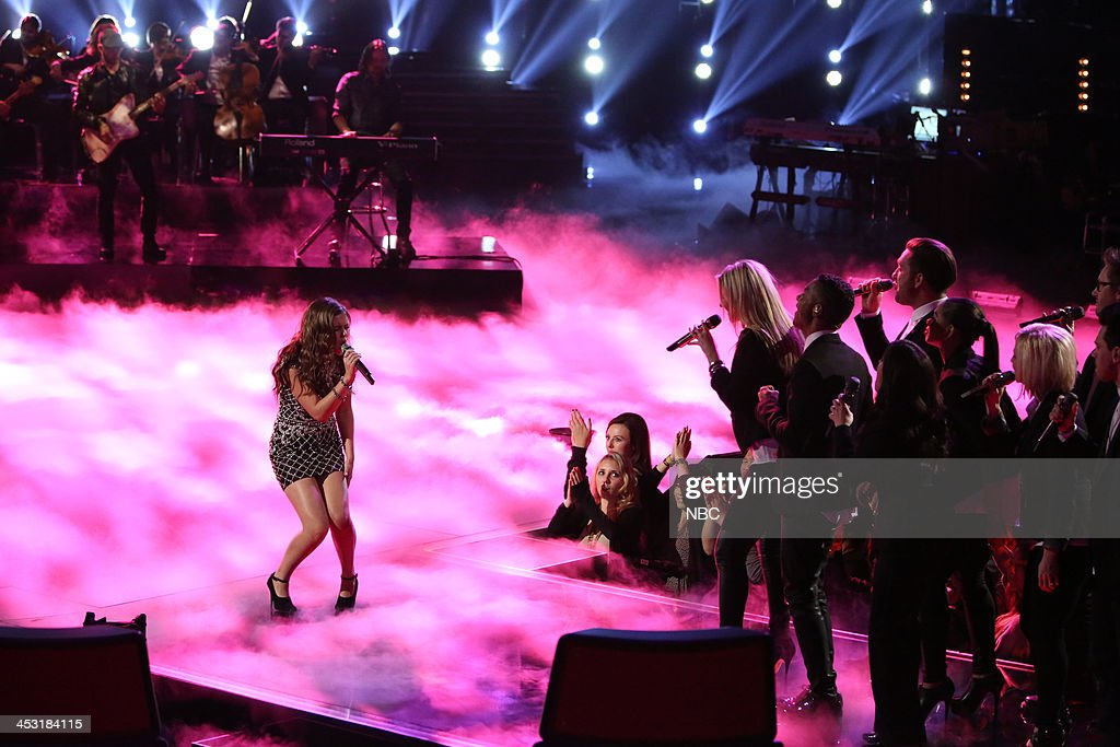 THE VOICE -- 'Live Show' Episode 517A -- Pictured: Jacquie Lee --