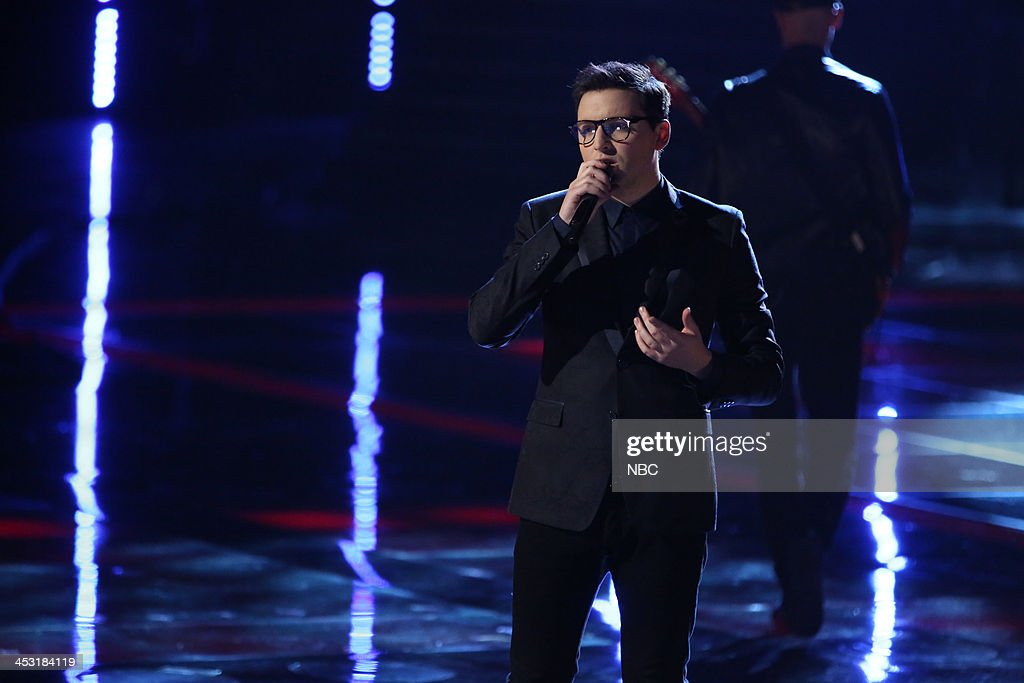 THE VOICE -- 'Live Show' Episode 517A -- Pictured: James Wolpert --