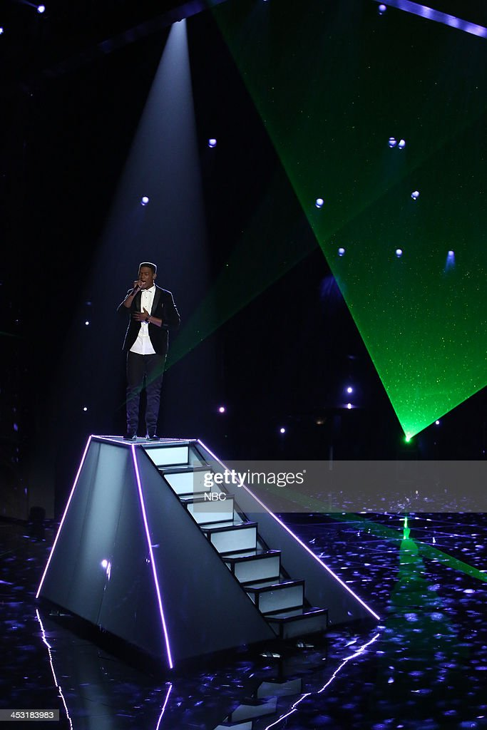 THE VOICE -- 'Live Show' Episode 517A -- Pictured: Matthew Schuler --