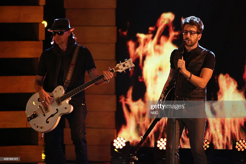 THE VOICE -- 'Live Show' Episode 517A -- Pictured: Will Champlin --