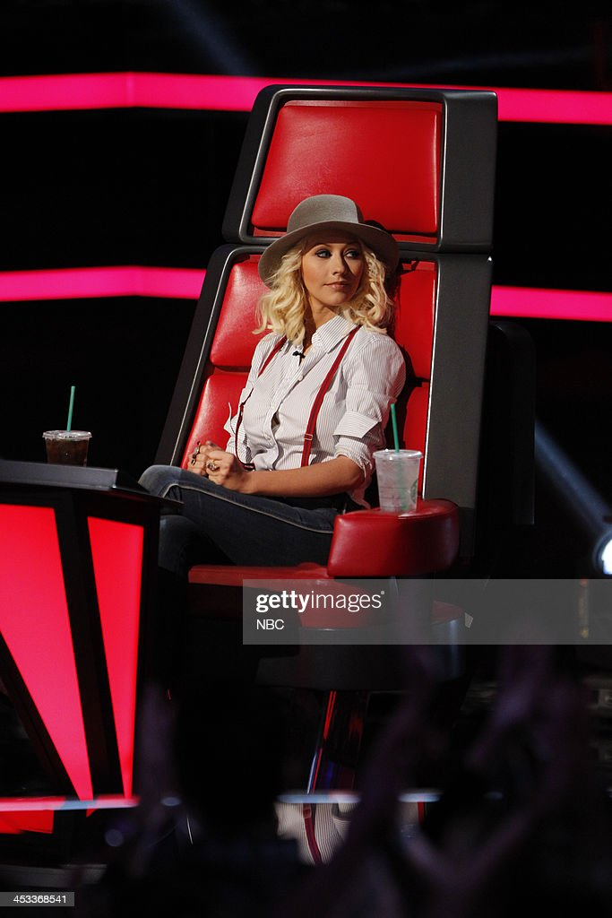 THE VOICE -- 'Live Show' Episode 517B -- Pictured: Christina Aguilera --
