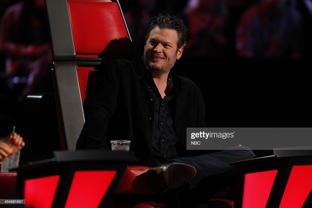 THE VOICE -- 'Live Show' Episode 518A -- Pictured: Blake Shelton --