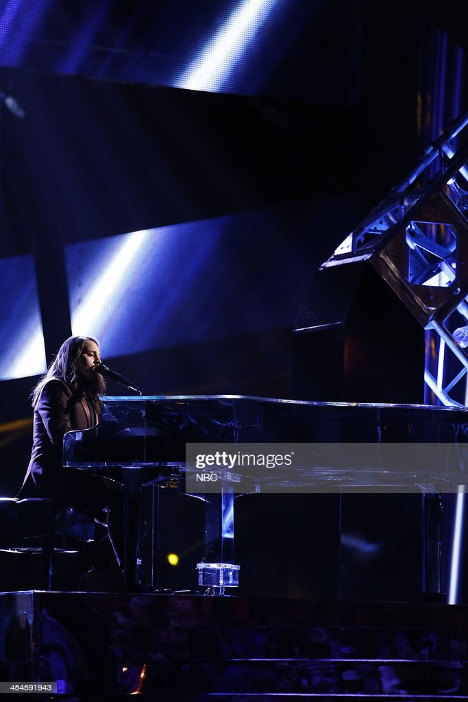 THE VOICE -- 'Live Show' Episode 518A -- Pictured: Cole Vosbury --