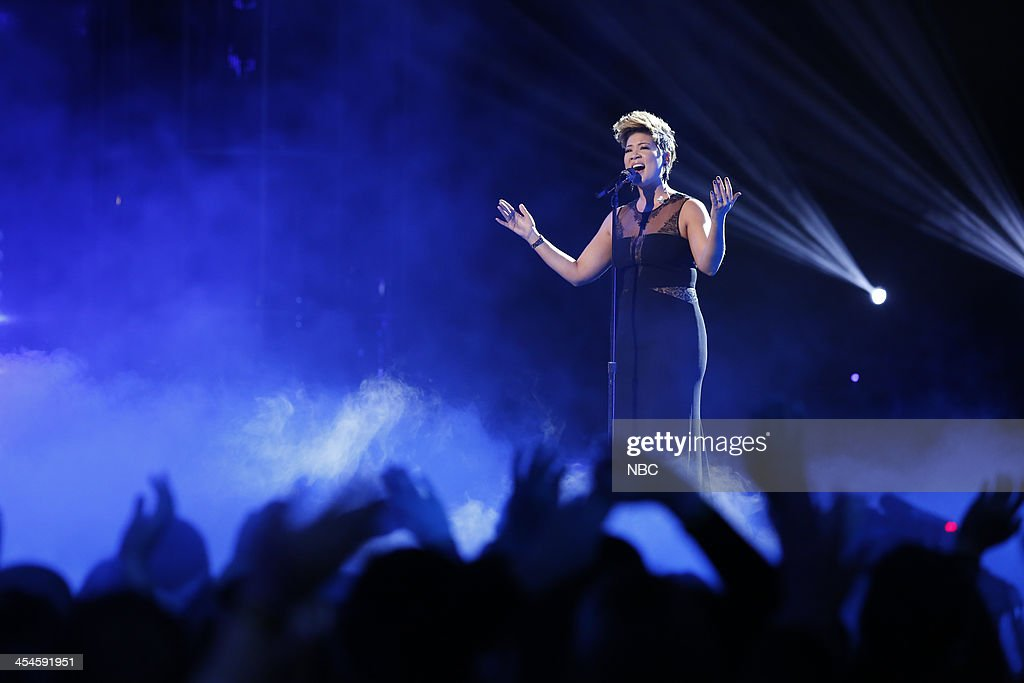 THE VOICE -- 'Live Show' Episode 518A -- Pictured: Tessanne Chin --