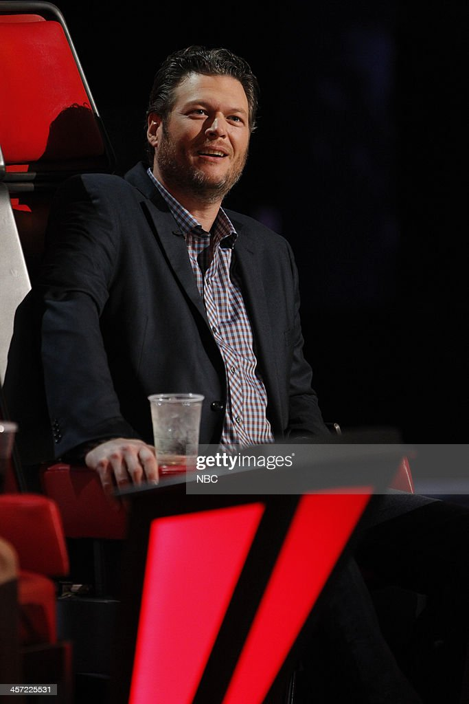 THE VOICE -- 'Live Show' Episode 519A -- Pictured: Blake Shelton --