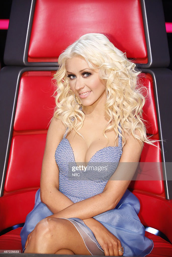 THE VOICE -- 'Live Show' Episode 519A -- Pictured: Christina Aguilera --