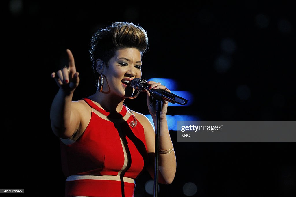 THE VOICE -- 'Live Show' Episode 519A -- Pictured: Tessanne Chin --