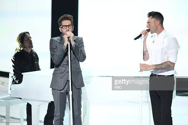THE VOICE 'Live Show' Episode 519A Pictured Will Champlin Adam Levine