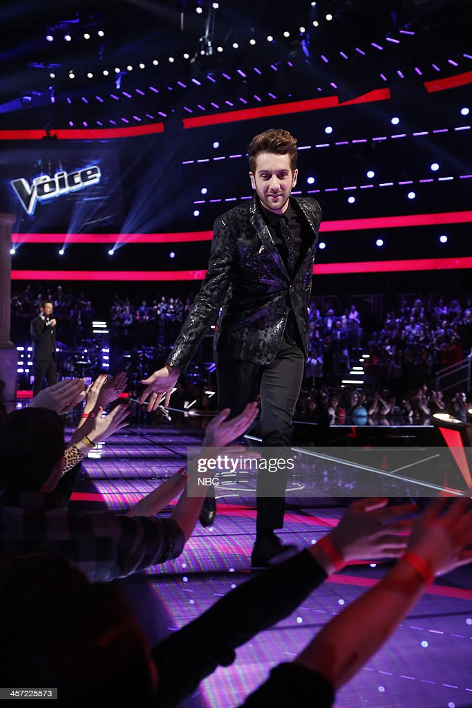 THE VOICE -- 'Live Show' Episode 519A -- Pictured: Will Champlin --