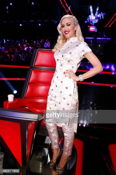 THE VOICE 'Live Show' Episode 718B Pictured Gwen Stefani