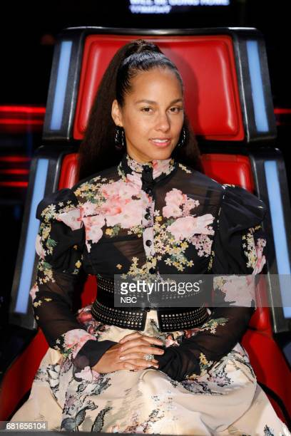 THE VOICE 'Live Top 10' Episode 1217B Pictured Alicia Keys