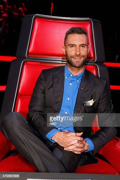 THE VOICE 'Live Top 10' Episode 814B Pictured Adam Levine