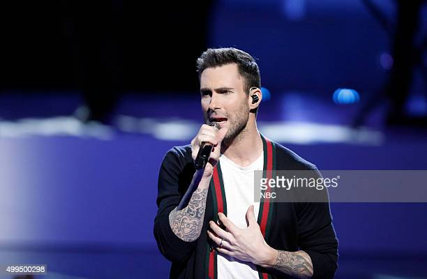THE VOICE 'Live Top 10' Episode 916B Pictured Adam Levine