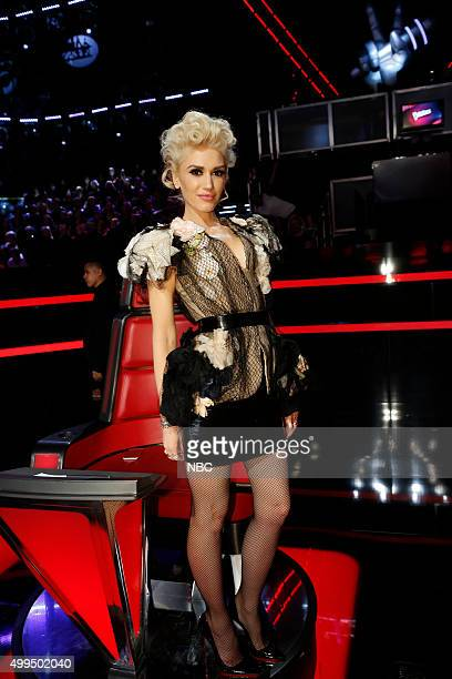 THE VOICE 'Live Top 10' Episode 916B Pictured Gwen Stefani