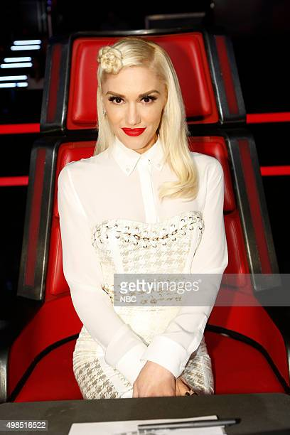 THE VOICE 'Live Top 11' Episode 915A Pictured Gwen Stefani