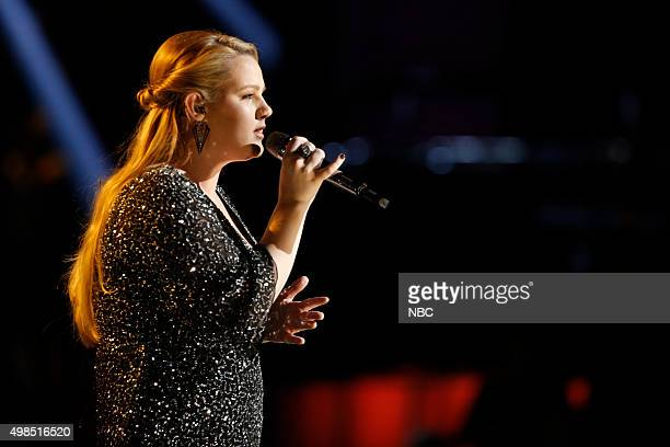 THE VOICE 'Live Top 11' Episode 915A Pictured Shelby Brown