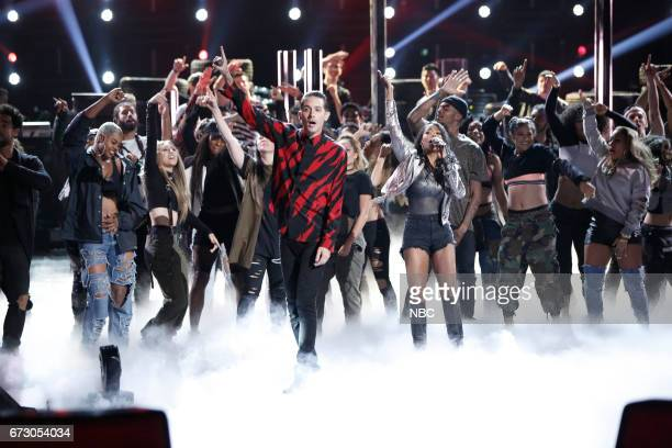 THE VOICE 'Live Top 12' Episode 1215B Pictured GEazy Munchie