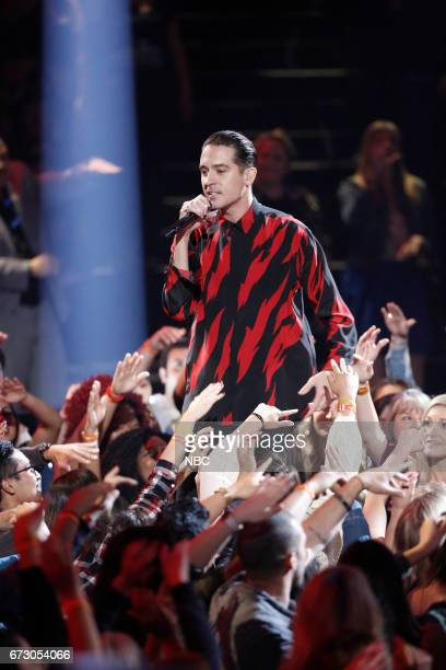 THE VOICE 'Live Top 12' Episode 1215B Pictured GEazy