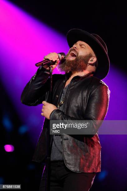THE VOICE 'Live Top 12' Episode 1317A Pictured Adam Cunningham