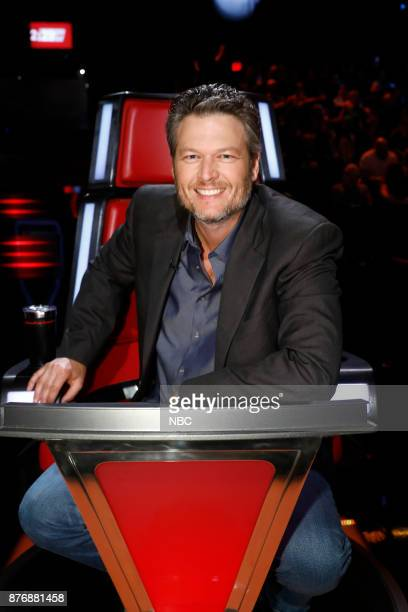 THE VOICE 'Live Top 12' Episode 1317A Pictured Blake Shelton