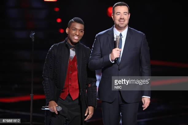 THE VOICE 'Live Top 12' Episode 1317A Pictured Jon Mero Carson Daly