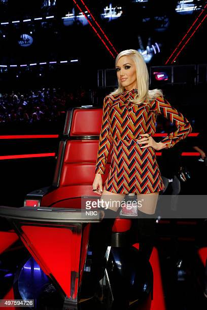 THE VOICE 'Live Top 12' Episode 914B Pictured Gwen Stefani